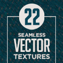 Post Thumbnail of 22 Seamless Vector Textures Sets (Vintage and Halftone)