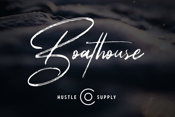 Boathouse - Brush Signature Script