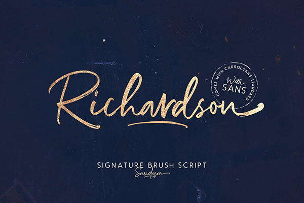 Richardson - Signature Brush