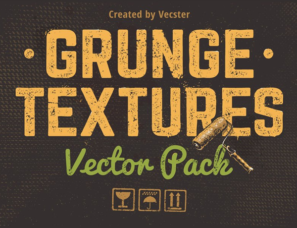 Grunge Textures Vector Pack