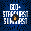 Post Thumbnail of 600+ Vintage / Retro Starburst and Sunburst Illustrated Sets