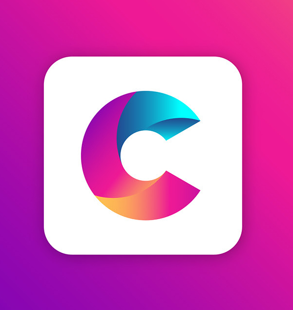 Free Letter C logo Template Free Font