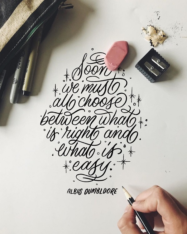 Remarkable Lettering and Typography Designs - 23