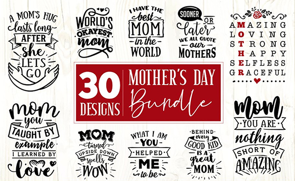 Mother's Day SVG Bundle