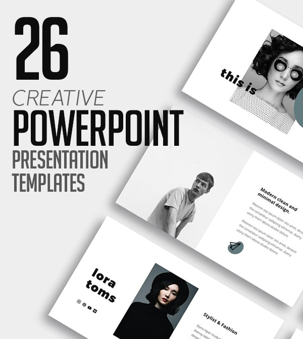 26 Creative PowerPoint Presentation Templates