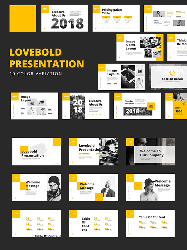 Lovebold Powerpoint Templates