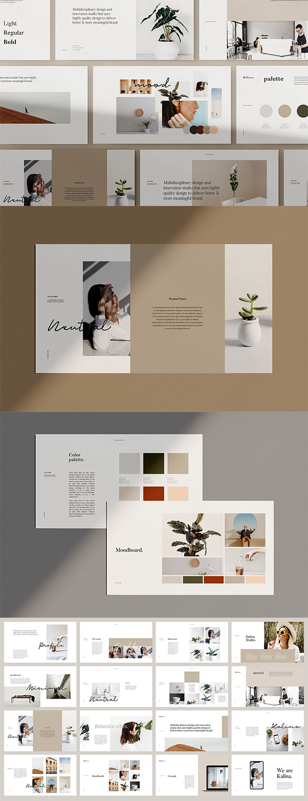 KALINA - Powerpoint Brand Guidelines