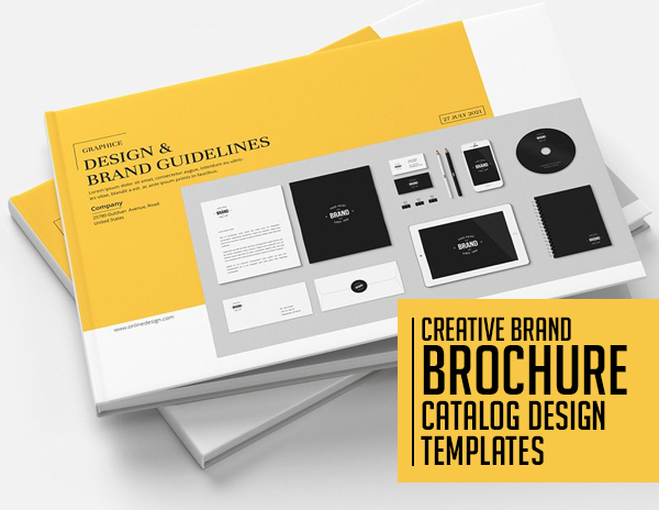 21 Creative Brochure and Catalog Design Templates