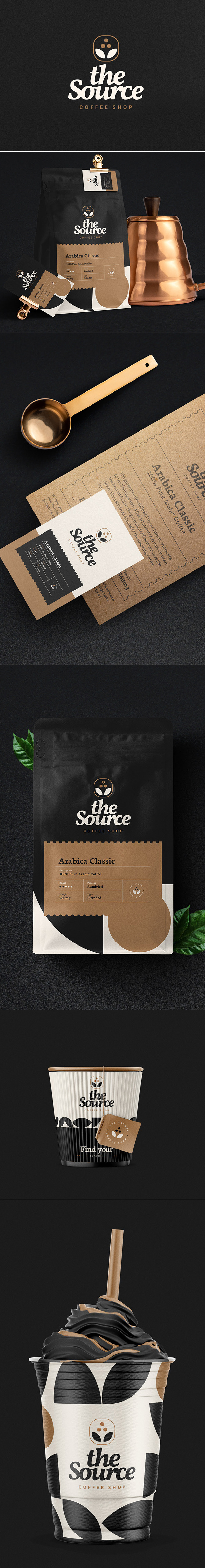 The Source Brand Identity & Packaging by David Silva