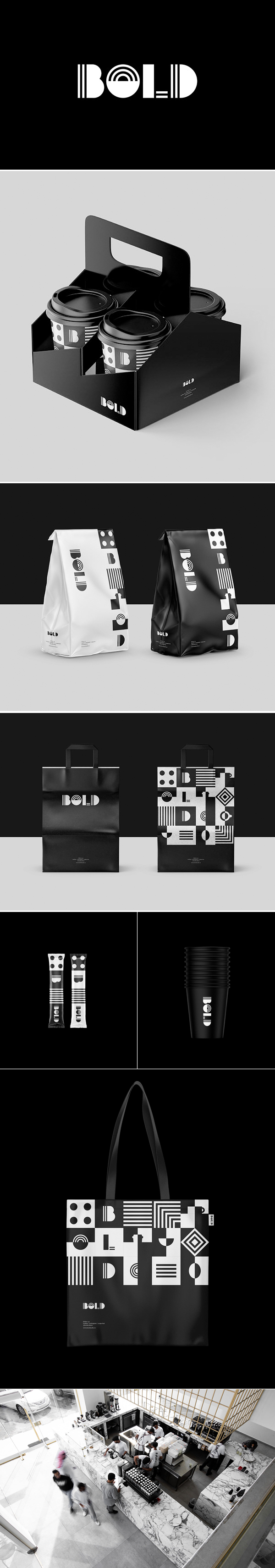 Bold Cafe Branding by Muhammad Almousa