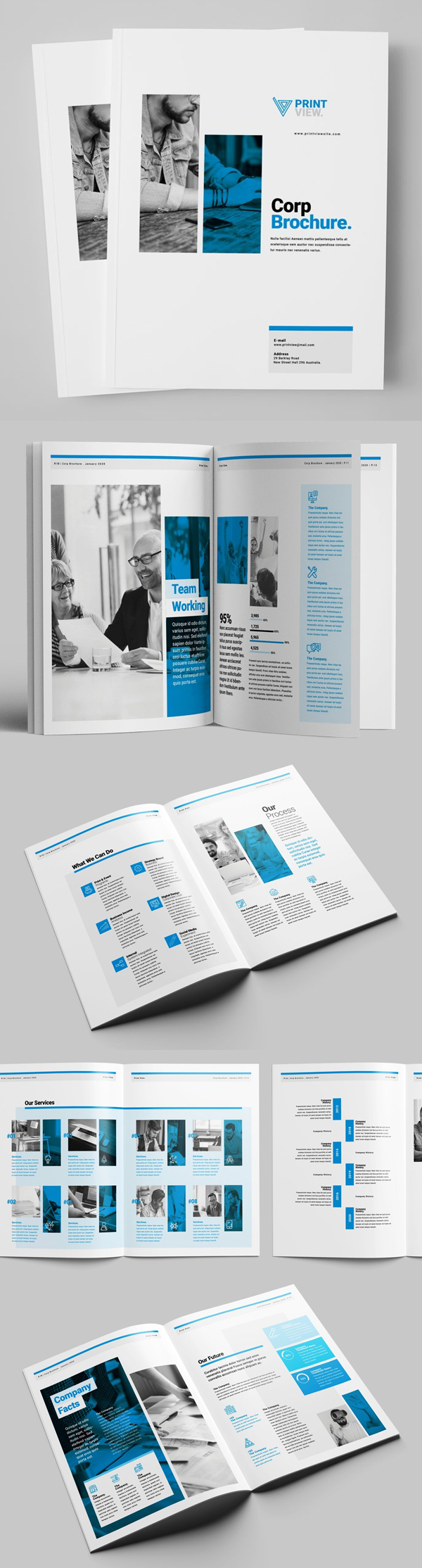Corporate Brochure Design Template