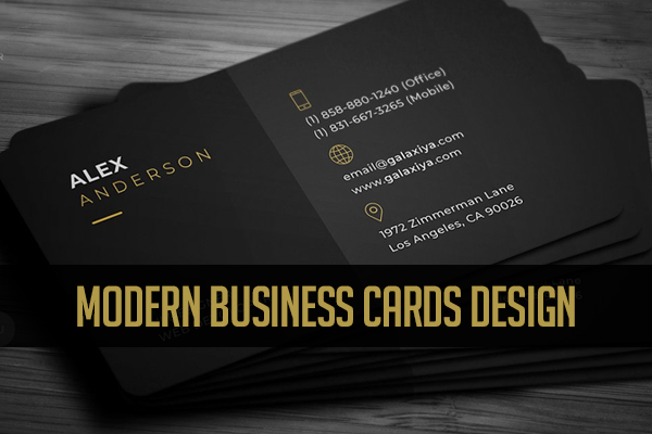 Business Cards Design – Modern Print Ready
