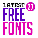Post Thumbnail of 27 Latest Free Fonts For Graphic Designers