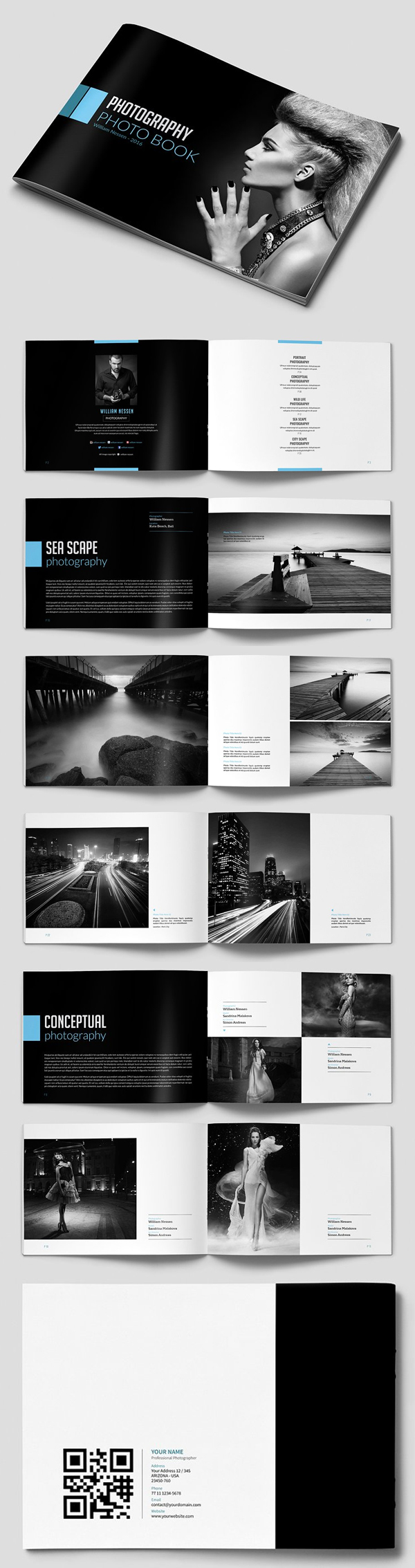 Minimal Photography Brochure Template