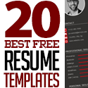 Post Thumbnail of 20 Best Free Resume Templates