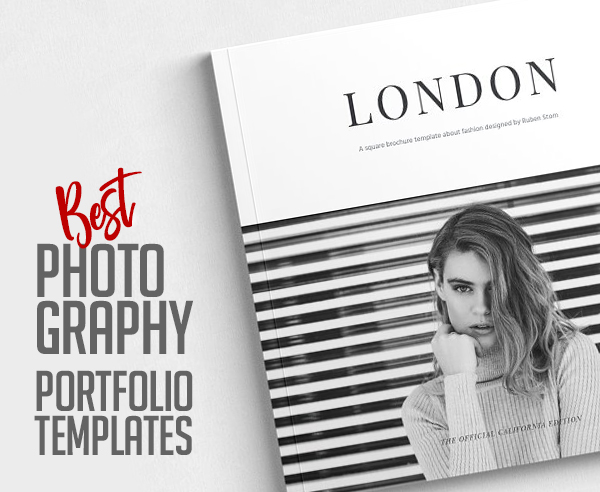 21 Best Photography Portfolio Brochure Templates