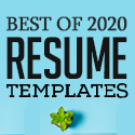 Post Thumbnail of 28 Best CV / Resume Templates with Cover Letter