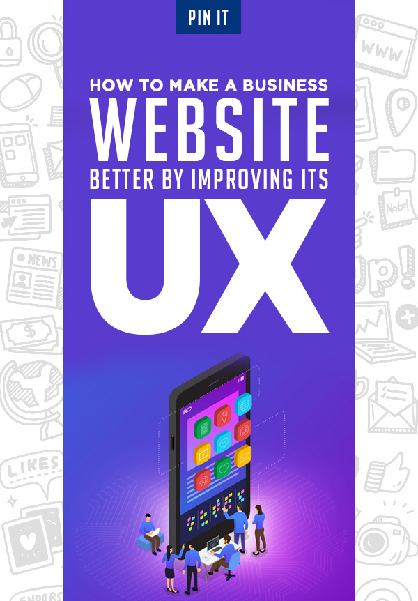 How to make a business website better by improving its UX