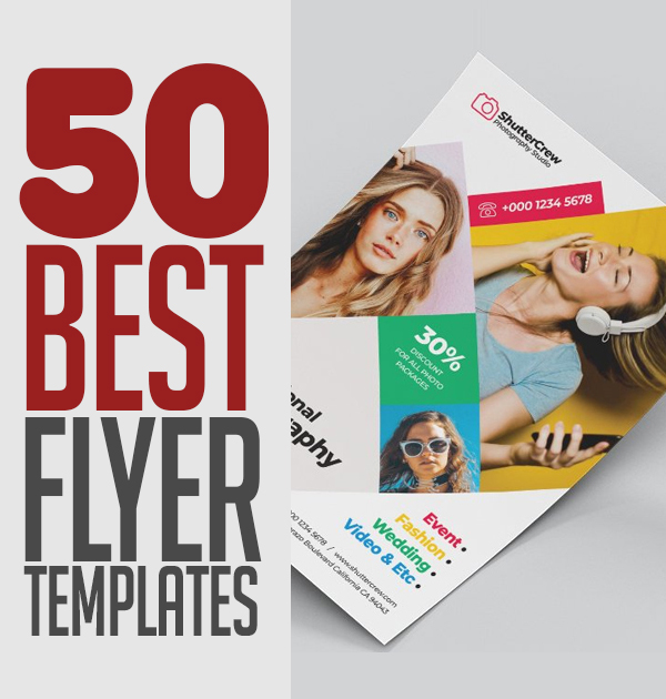 50 Best Corporate Business Flyer Templates