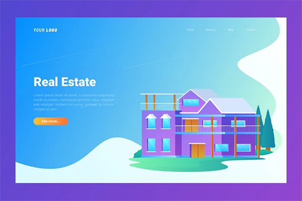 Real Estate- Landing Page