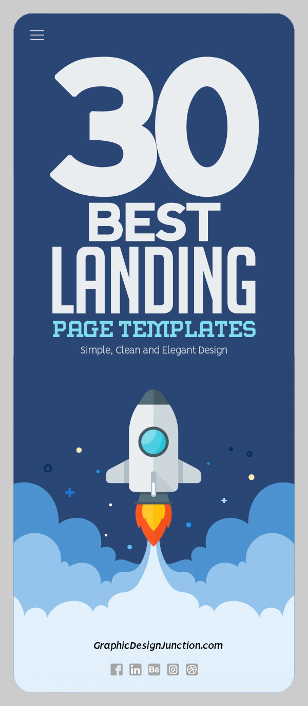 30 Best Landing Page Templates Of 2020