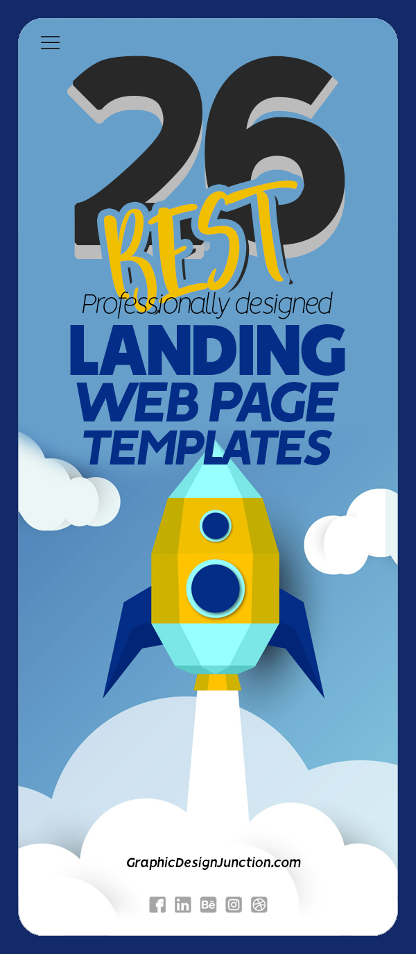 26 Best Landing Page Templates 2020