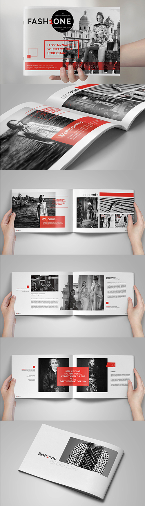 Multipurpose Fashion Brochure Template