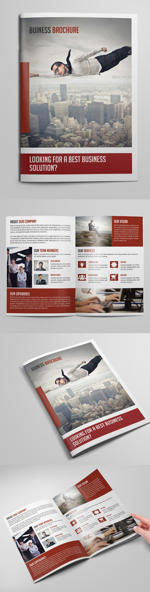 Corporate Bi- Fold Business Brochure Design