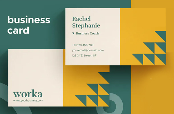 Eye-Catchy Business Card Design