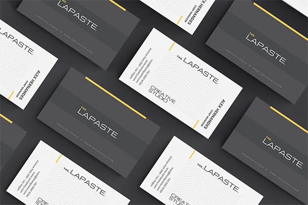 Lapaste Business Card Design