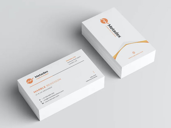 Editable Business Card Design