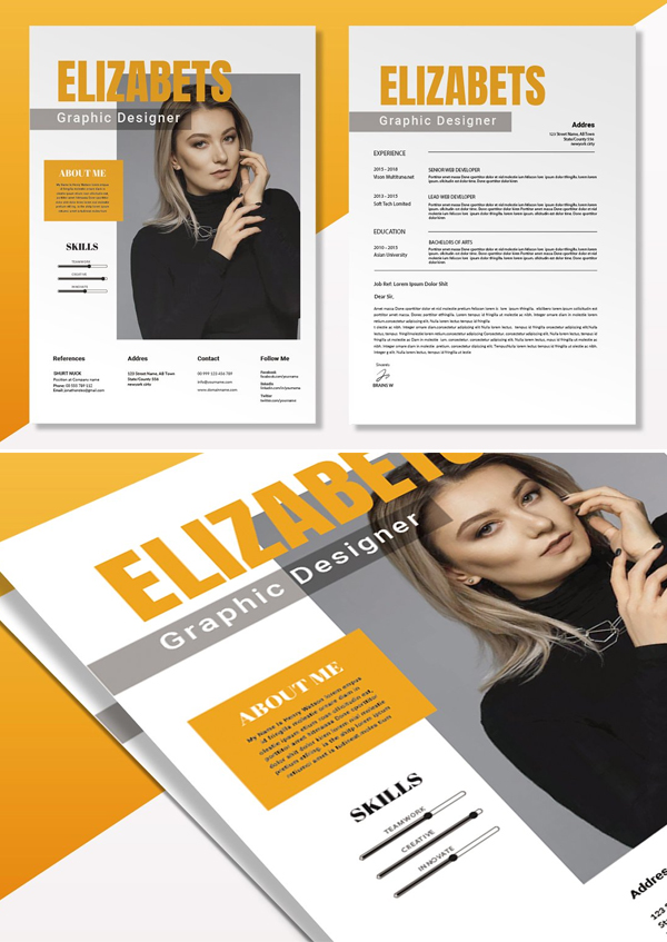 Elizabeth Clean | CV & Resume