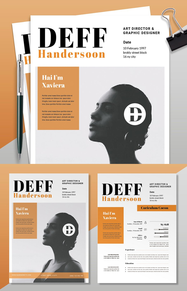 Deff Orange | CV & Resume