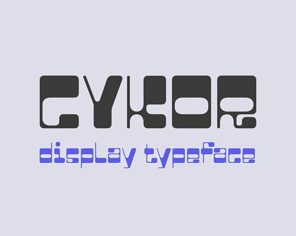 Cykor Display Free Font