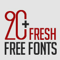 Post thumbnail of 20+ Fresh Free Fonts For Graphic Designers