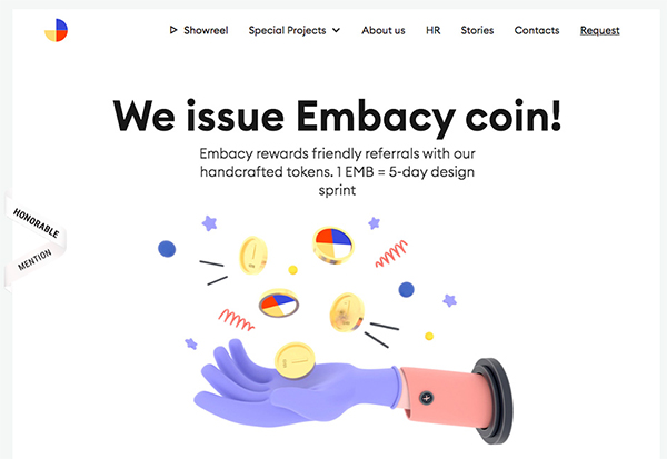 Embacy Coin - Website Design - 25