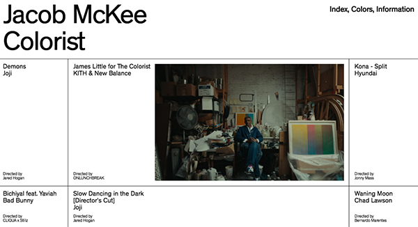 Jacob McKee Colorist - Website Design - 30