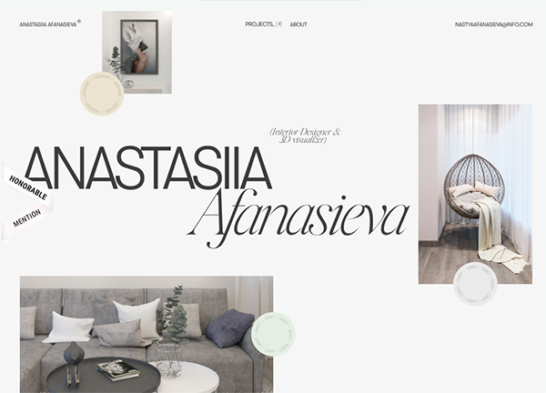 Anastasiia Afanasieva - Website Design - 35
