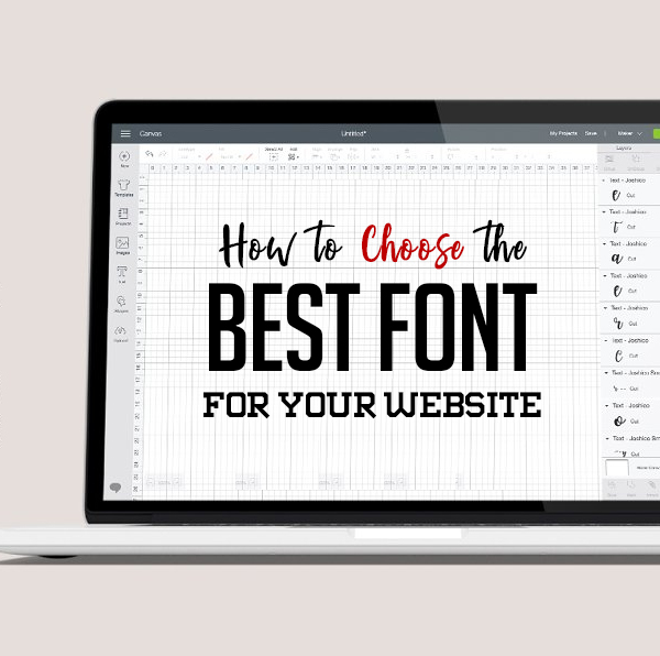 How to Choose the Best Font for your Website