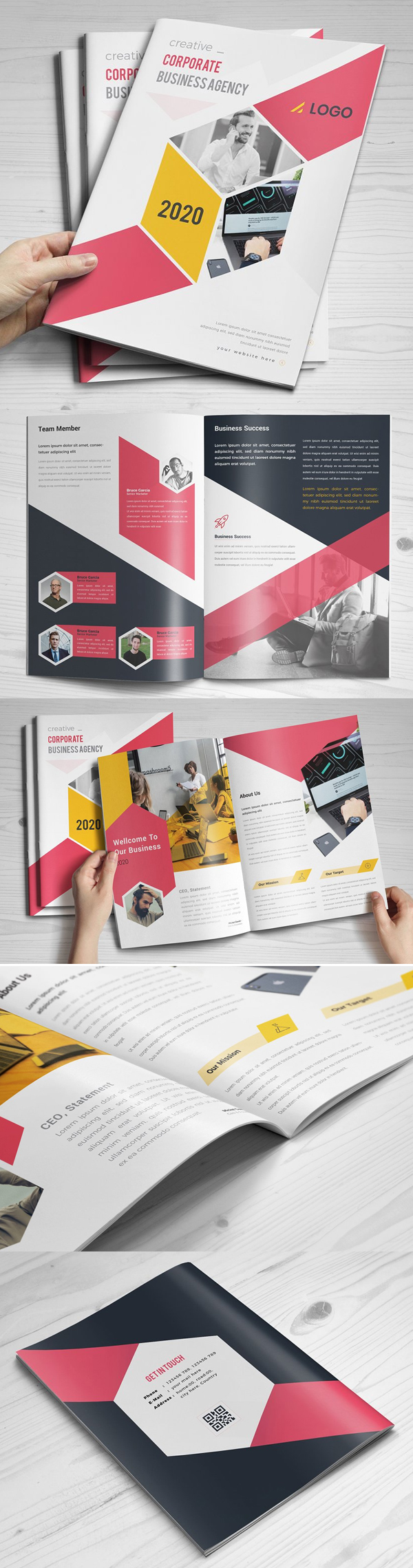 Awesome Business Brochure Template