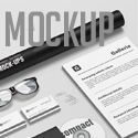 Post thumbnail of 27 Realistic Free Photoshop Mockup Templates