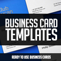 Post thumbnail of Business Card Templates – 31 Inspiring Design