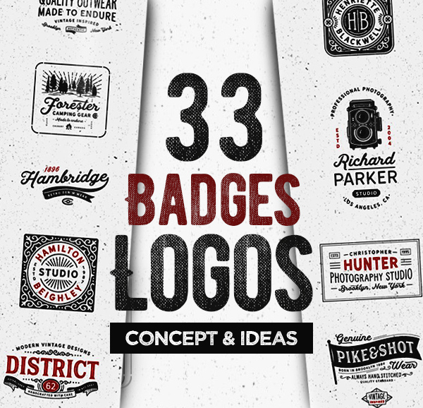 33 Brilliant Concepts of Badges Logo Designs