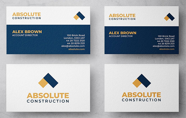 Absolute Construction Business Card
