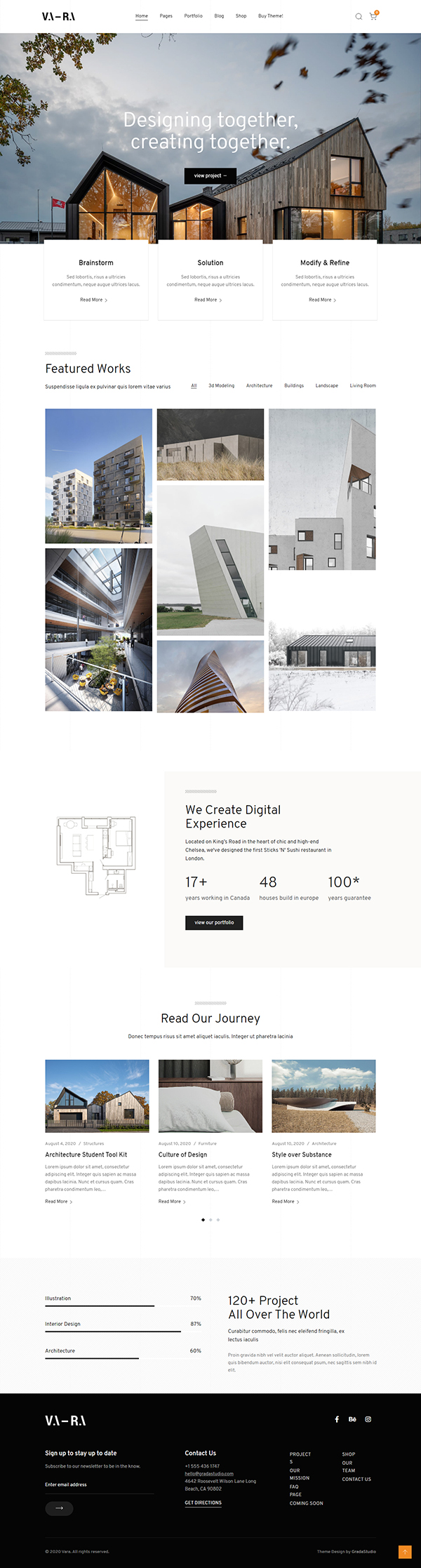 Vara - Architecture WordPress Theme