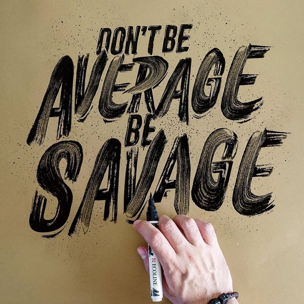 35 Remarkable Lettering and Typography Designs for Inspiration - 9
