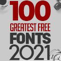 Post thumbnail of 100 Greatest Free Fonts for 2021