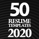 Post Thumbnail of 50 Resume Templates - Best Of 2020