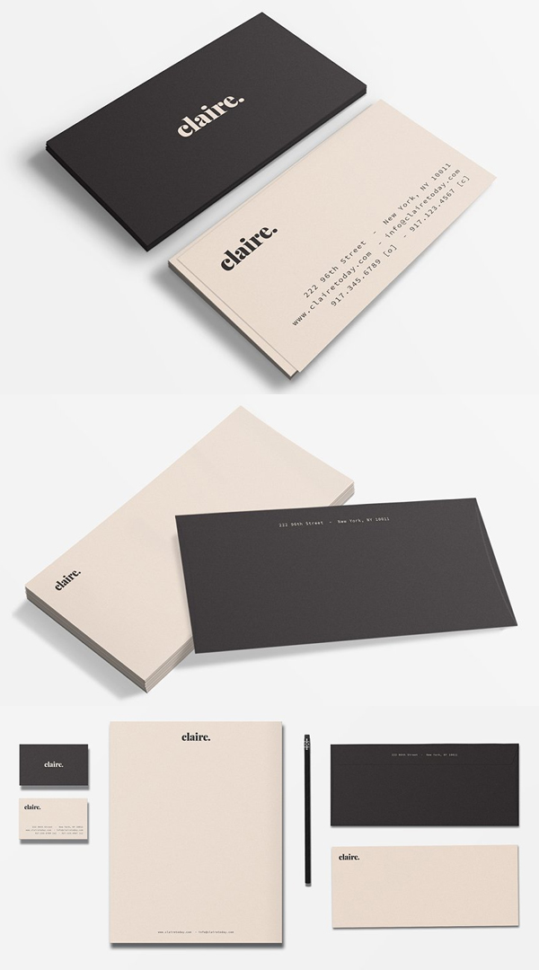 Claire Stationery Set