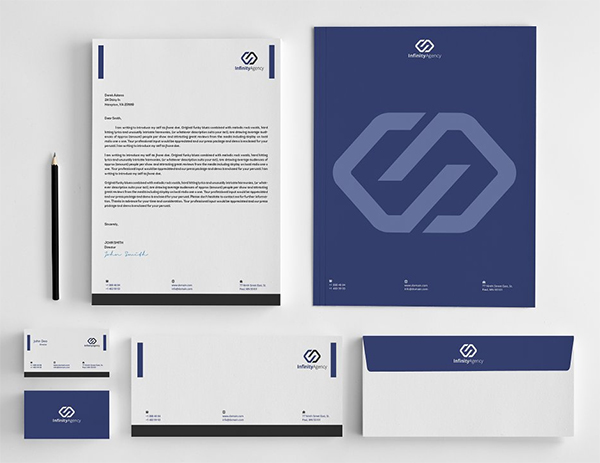 Simple Clean Stationery